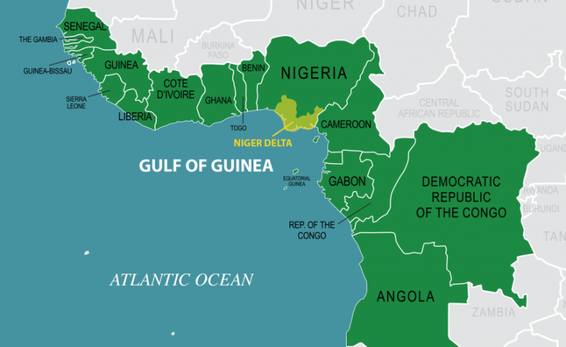 Gulf Of Guinea Africa Map Chinese soldiers to join anti piracy efforts in the Gulf of Guinea