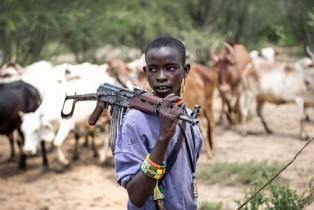 Fulani herdsmen and farmers in Nigeria fighting over resources