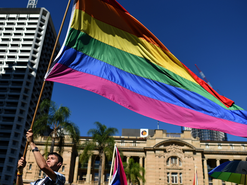 HOMOPHOBIA INTERNATIONAL DAY BRISBANE