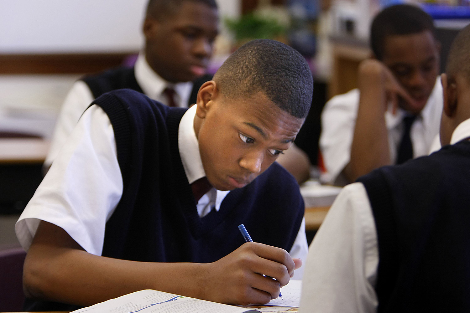education of african american male students essay Free essay: thesis statement: to examine societies contribution to the destruction of the urban african-american male, one must further explain the.