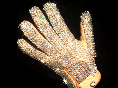 Michael Jackson bad tour glove