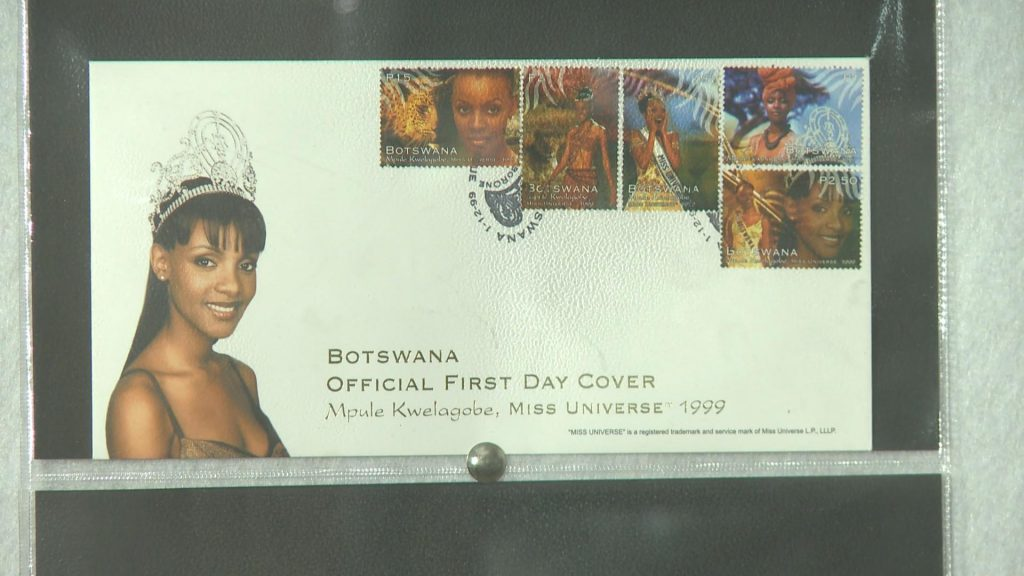 Mpule became the only living Batswana to have her image used on mail stamps in the country after her victory in the Miss Universe pageant.