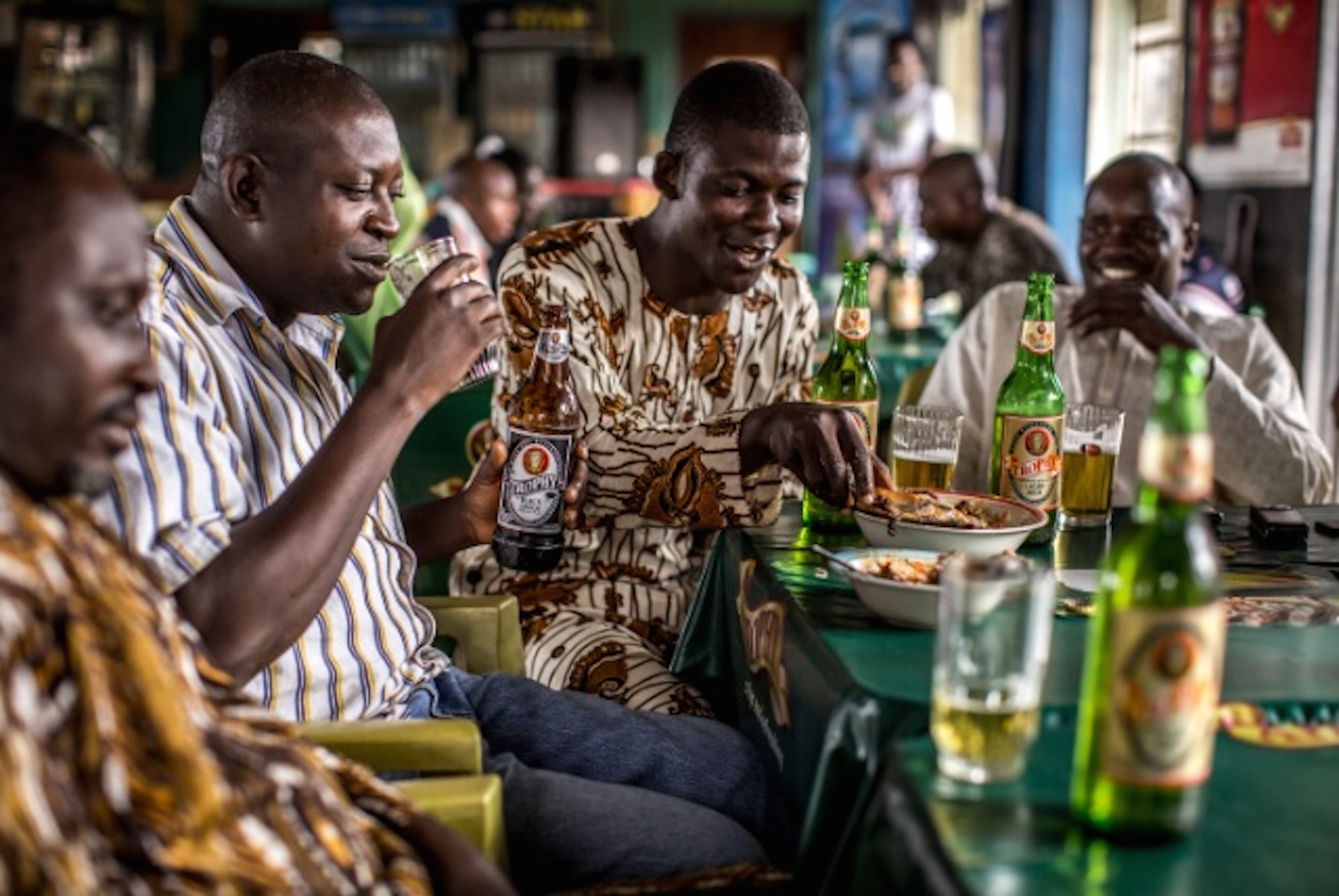 Africa is the world's fastest-growing beer market, with research group Plato Logic forecasting volume growth of 4.5 percent this year compared with 1.4 percent globally. Image courtesy: Springleap