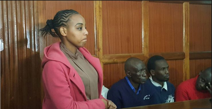 Kenya's prison beauty queen sentenced to death for boyfriend's murder