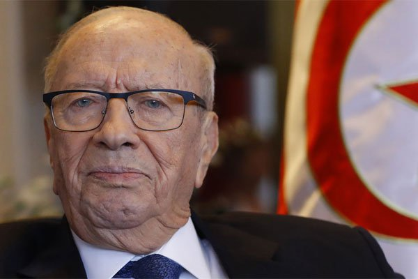 Tunisian president hospitalized due to health issues