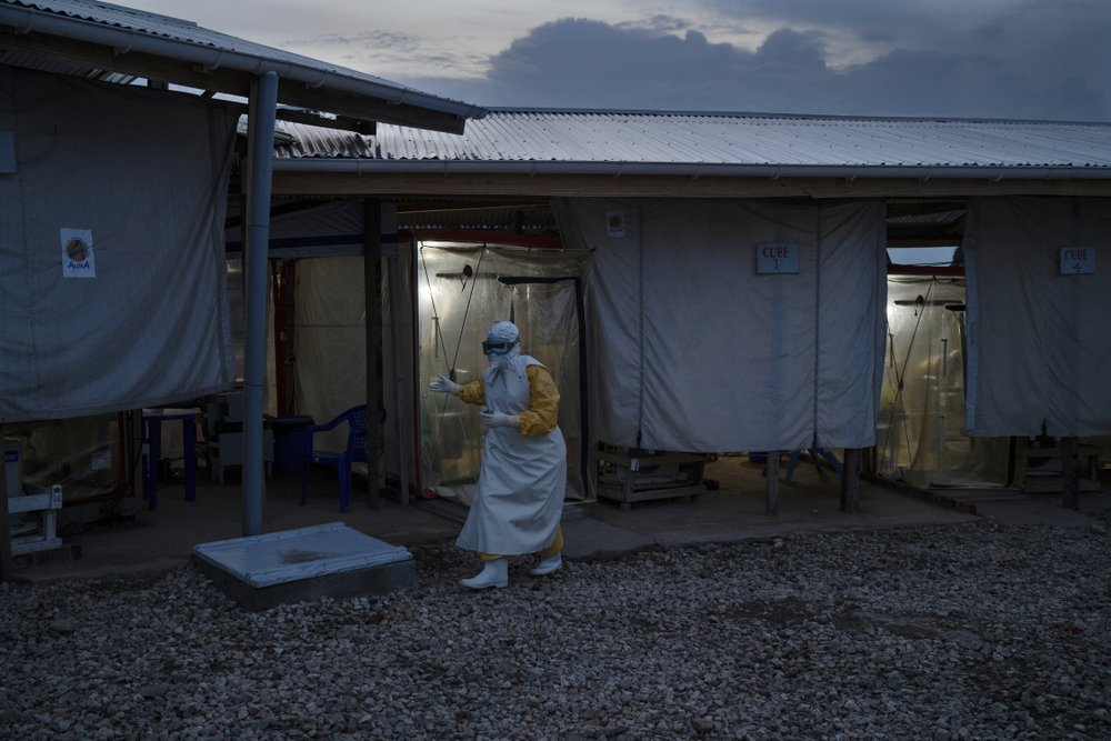 Second Ebola case in Congo's main eastern city dies