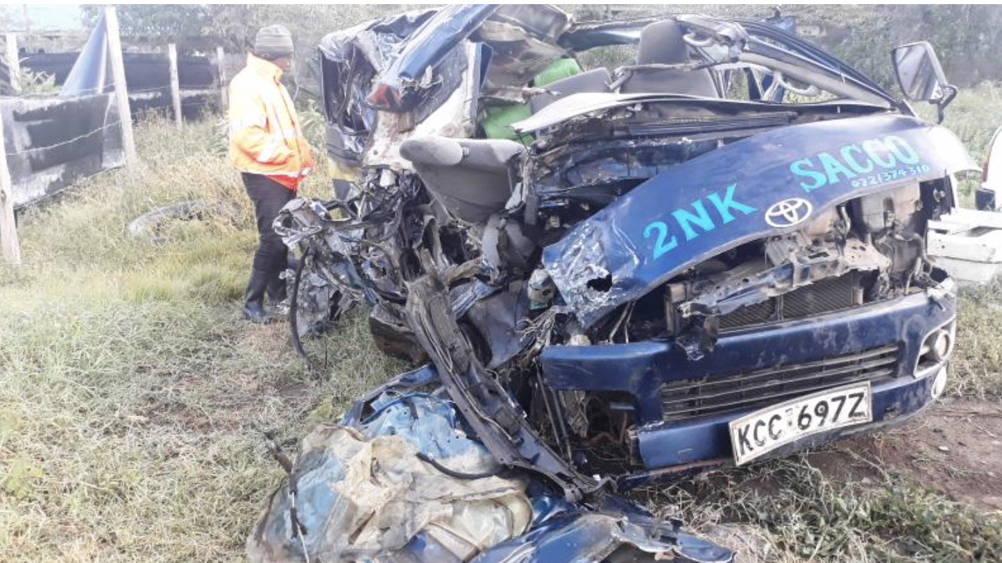 Six killed, 9 others injured in road accident in Kenya