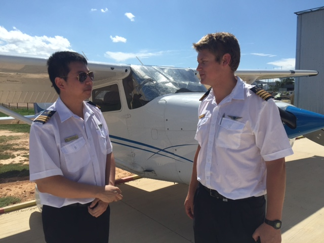 Two instructors