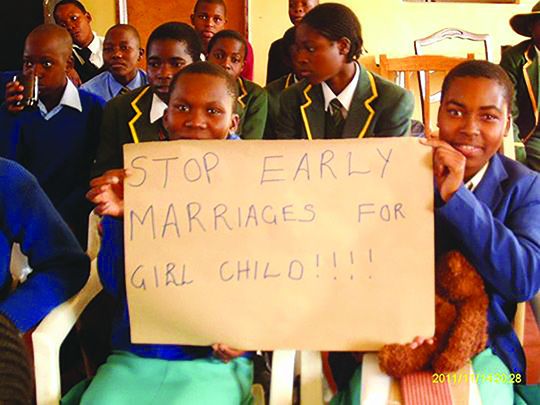 Zimbabwe Teens Take Government to Court Over Marriage