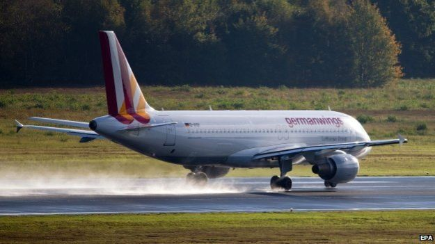 The Germanwings plane was carrying about 150 people