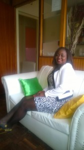 Clarice Ndolo at her Nairobi office