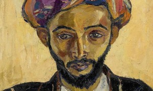 An art expert discovered the Irma Stern painting, once sold to help fund Nelson Mandela's legal defence, being used as a noticeboard in a London flat.