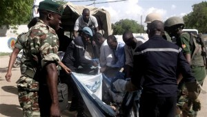 Bombers targeted a market in the heart of Maroua
