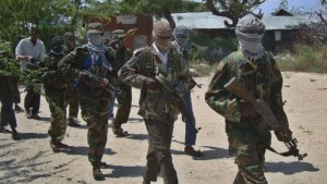 """The attack came as Obama, on a visit to neighbouring Kenya, praised AMISOM's efforts, but said while the insurgents had been """"weakened"""", the overall security threat posed by the group remained"""