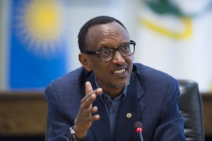 Kagame, 57, has been at the helm of Rwandan politics since 1994