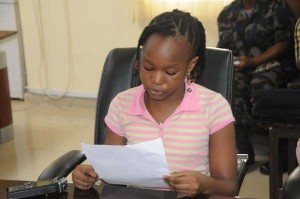 Splendour Joe Abisoye is no ordinary nine year old. A trip to a camp for displaced civilians in her country's north made such an impression on the young Nigerian that she decided to write a book about it.