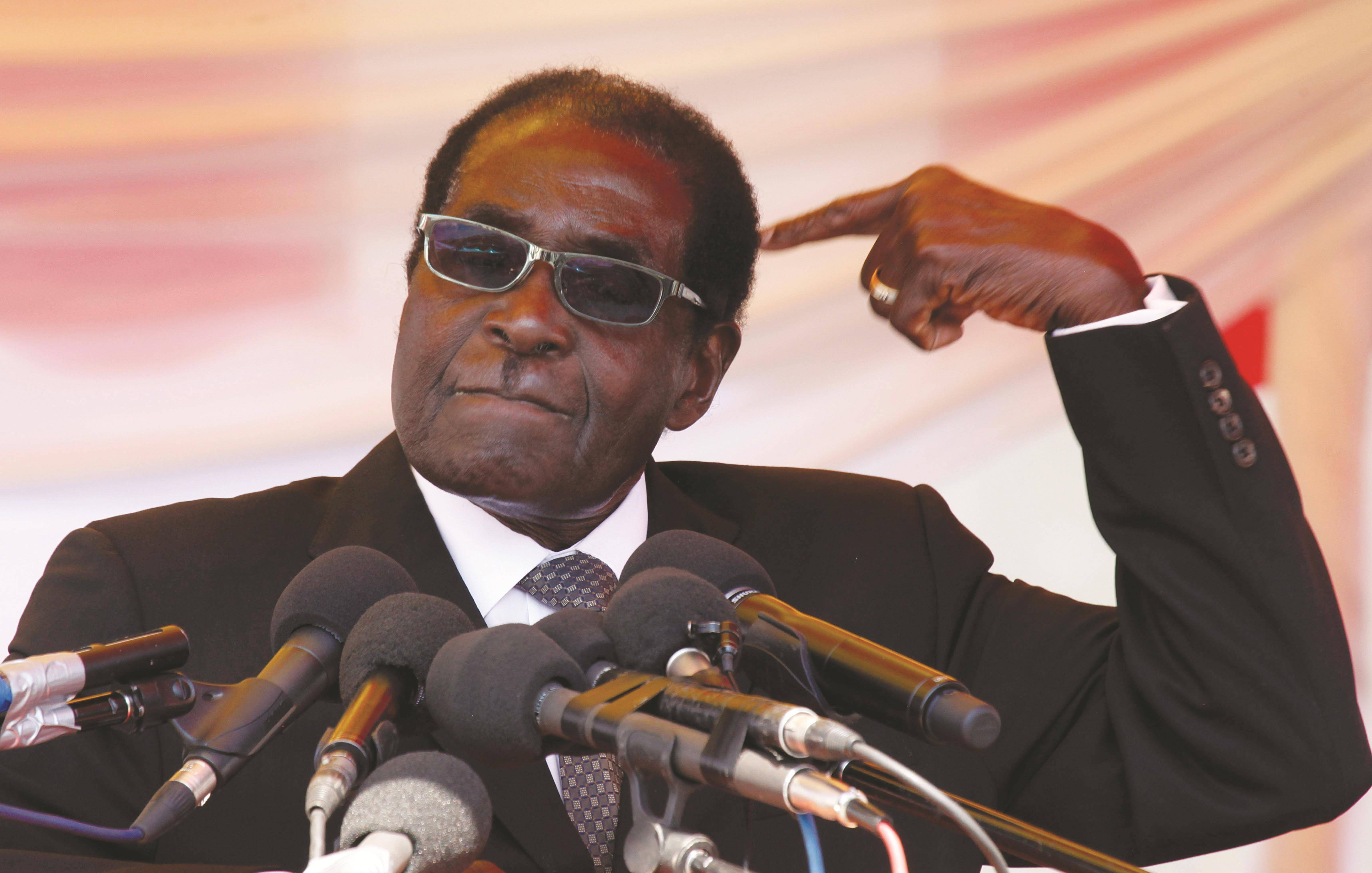 Zimbabwean President Robert Mugabe on friday reshuffled his cabinet, a day after a new opposition party was launched.
