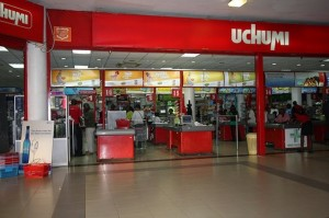 An Uchumi Supermarkets outlet.