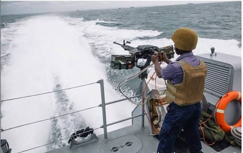 Nigerian navy uncovers illegal training camp in Lagos