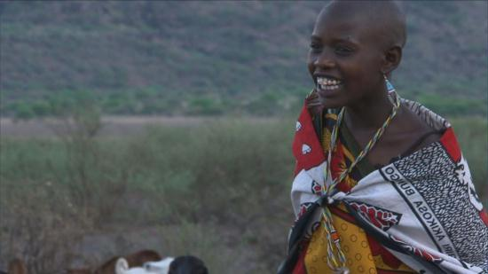 Eunice Mitao an 11 year old Maasai girl about to be married as a second wife.