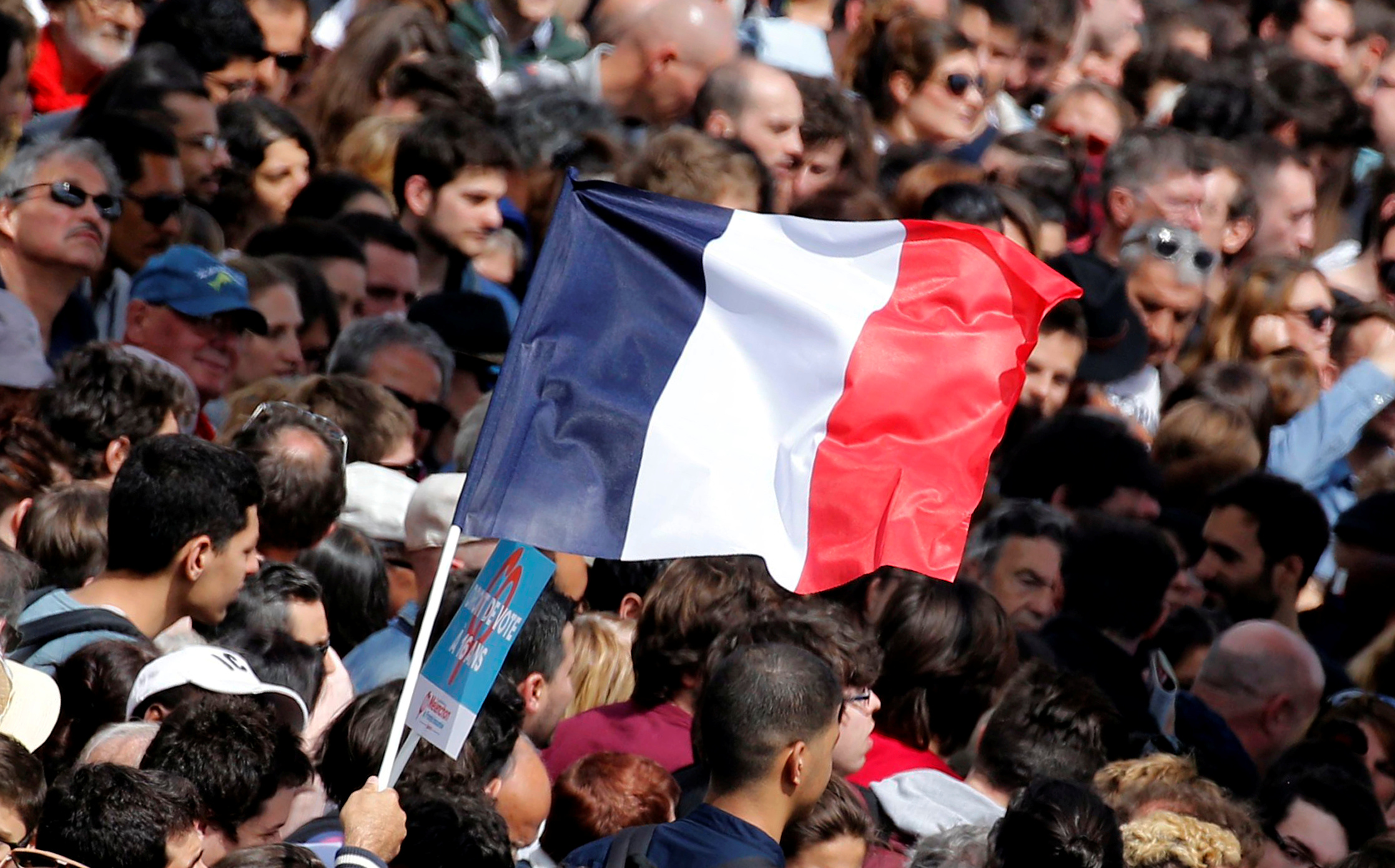 The French election is one of the most hotly anticipated in Europe. Image courtesy: REUTERS/Regis Duvignau
