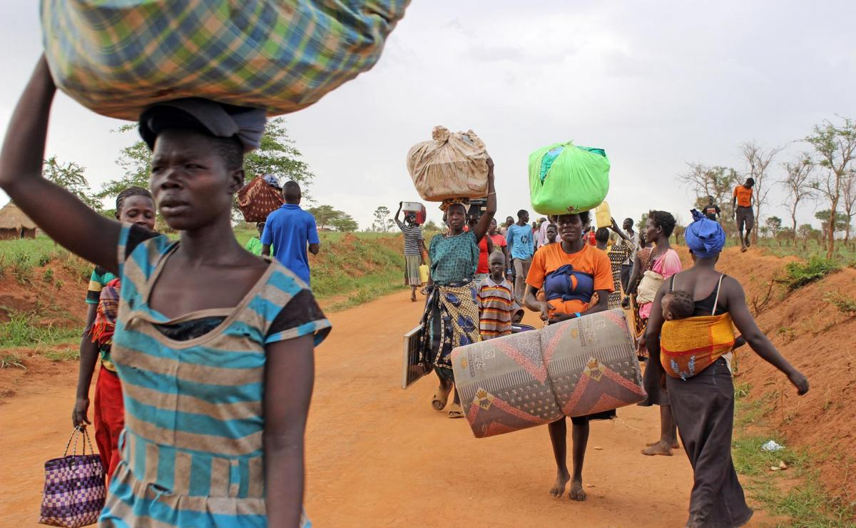 Ms Agnes Lamunu, one of the locals in the area, said that those who disguise themselves as refugees are desperately looking for food since most of them have had poor harvests due to the prolonged dry spell that hit the district. Image courtesy: LWF Uganda