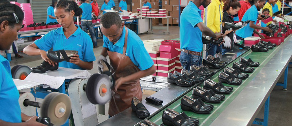 The state government has secured a 1.5 billion dollar shoe factory deal for the establishment of a shoe industry in Aba, with the Huajian Shoe Industry, Guangzhou, China. Image courtesy: World Economic Forum