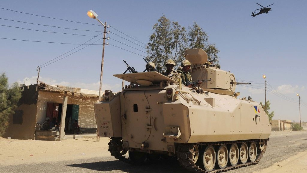 Attacks on security forces are considered common in Egypt's North Sinai province. The country is currently battling an insurgency by a local affiliate of the Islamic State group, but targeted assaults in Cairo are rare and the shooting comes amid a campaign by militants to spread violence throughout the country. Image courtesy: The Times of Israel