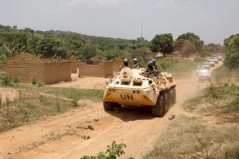 The attacks throughout the weekend in the border-town of Bangassou have involved hundreds of fighters with heavy weaponry and appear to be aimed at Muslims. Image courtesy: Reuters