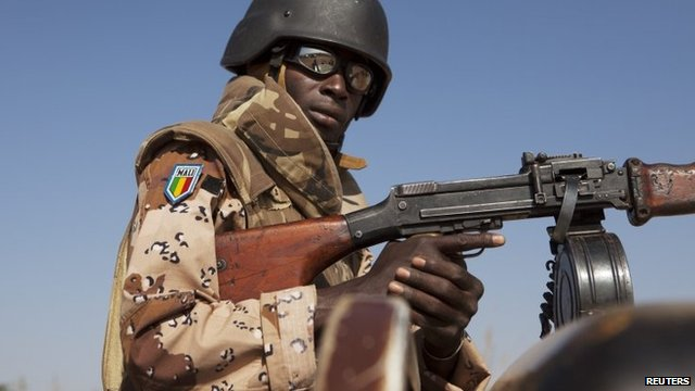 Soldier with the Mali army. Picture courtesy.