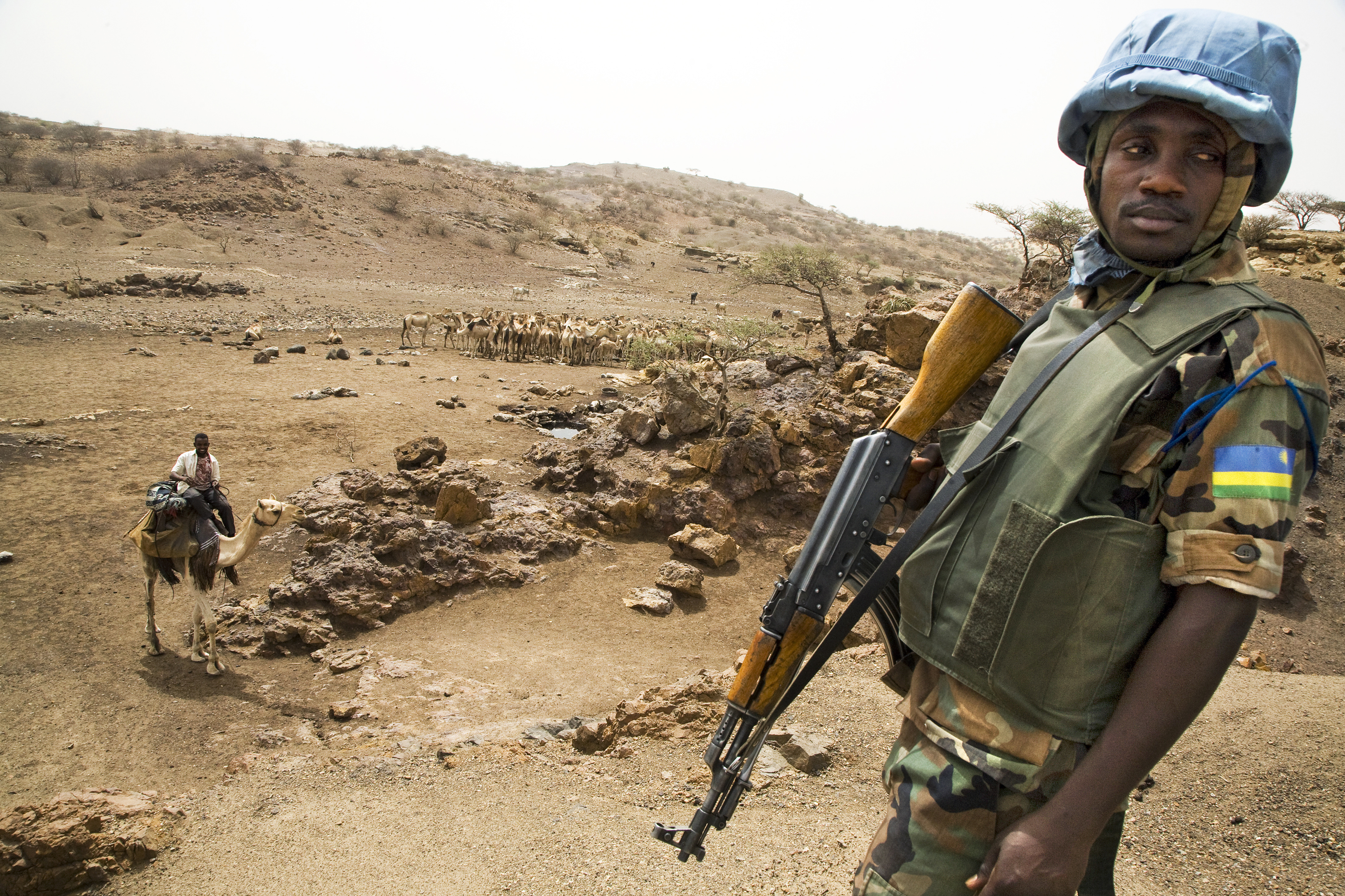 It is determined that the situation in Sudan is a threat to international peace and security, and the Court leads an investigation into reports of violations of international humanitarian law and human rights law in Darfur by all parties. Image courtesy: U.N.