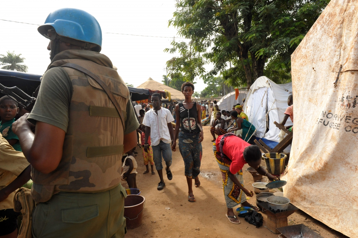"""Raids by excessive force in heavily populated areas and military roadblocks that result in many being shot are enough to convince the Prosecutor to submit acts that are on a """"large scale"""", highlighting that around 1 million people have been displaced, and the existence of several mass graves. Image courtesy: FranceSoir"""