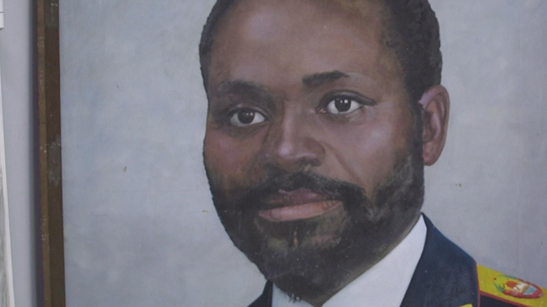 A simple portrait of President Samora Machel