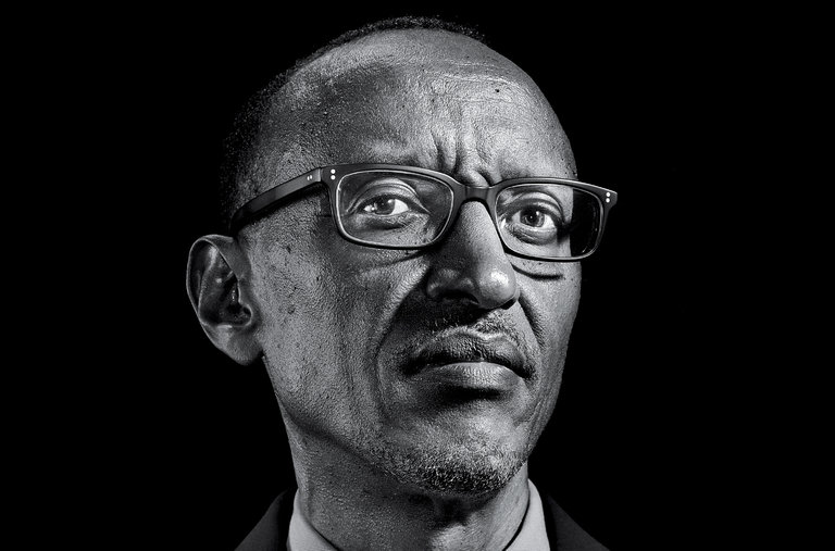 Paul Kagame, who has been in power for 17 years, is once again leading the country - beating challengers Frank Habineza, of the Democratic Green Party, and Philippe Mpayimana, an independent, to the Presidential seat. Image courtesy: New York Times