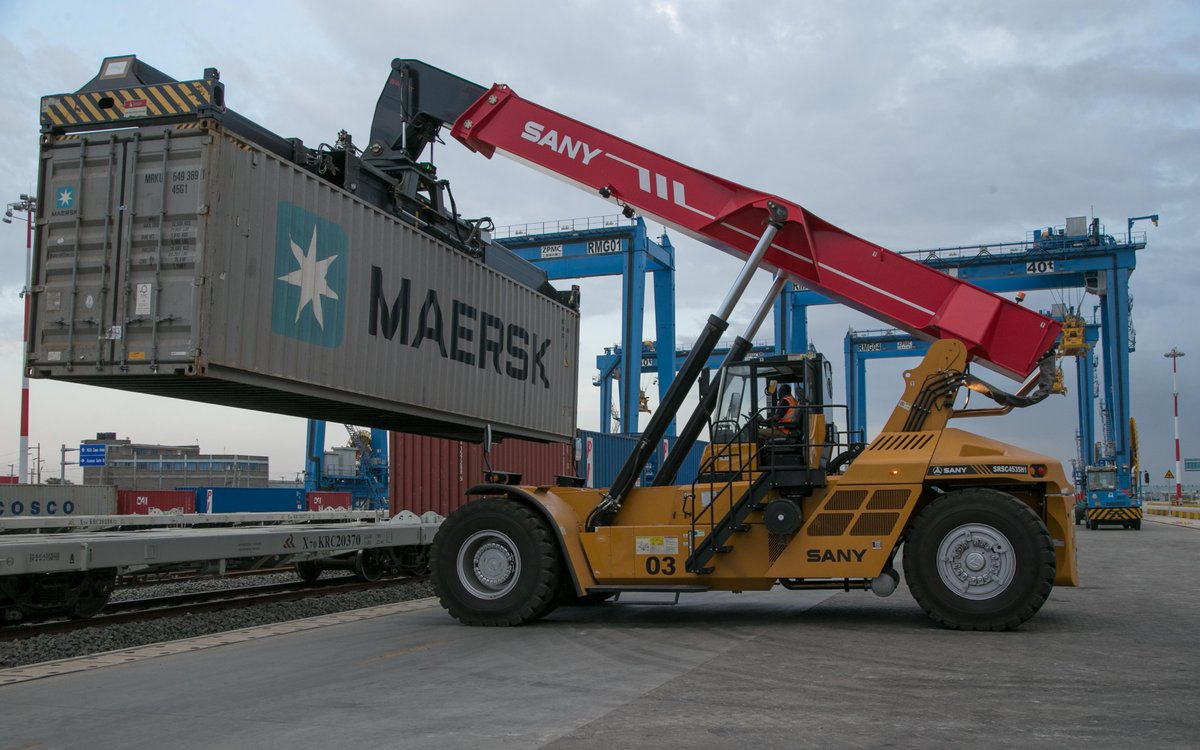 Kenya launches its first Standard Gauge railway cargo train