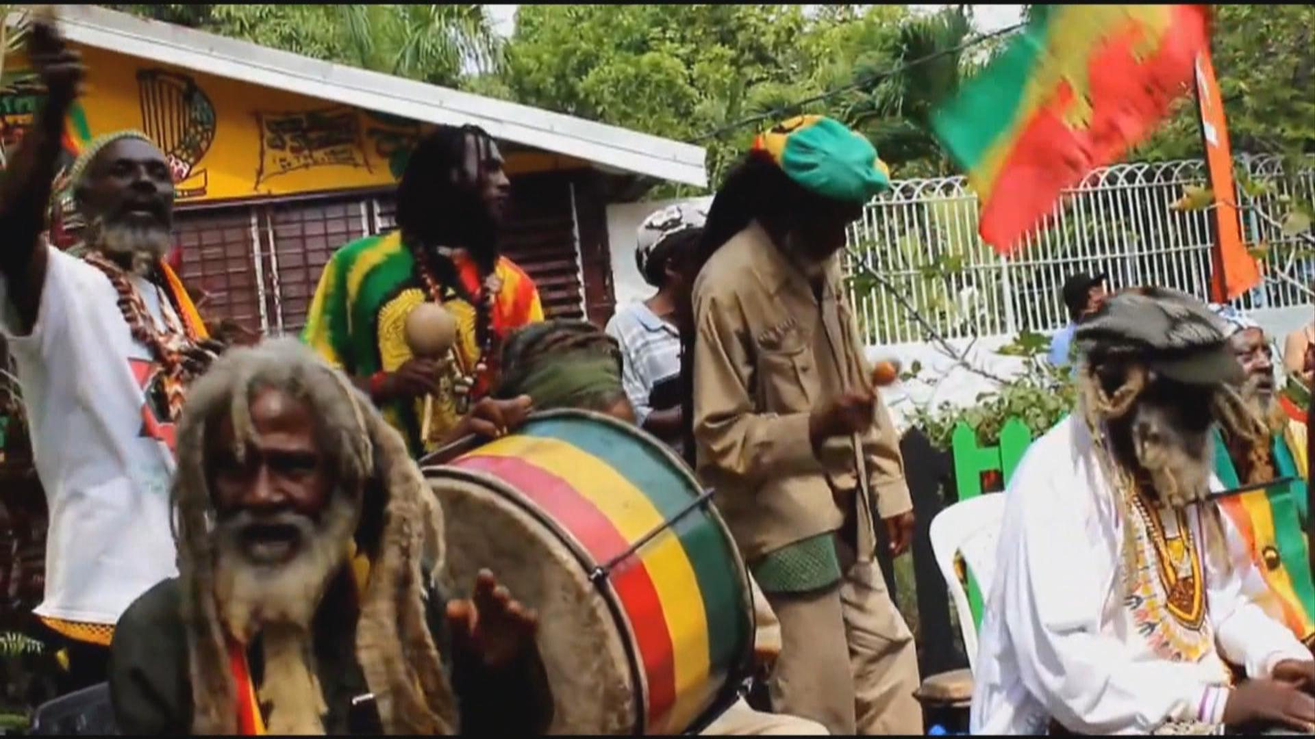 Chinese Rastafarian Faces of Africa...