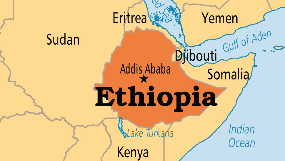 Ethiopia On Map Ethiopia on Map | CGTN Africa Ethiopia On Map