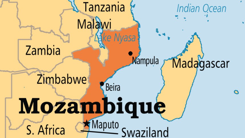 map of mozambique and south africa Mozambique Police Chief Says Northern Provinces Are Not Under map of mozambique and south africa