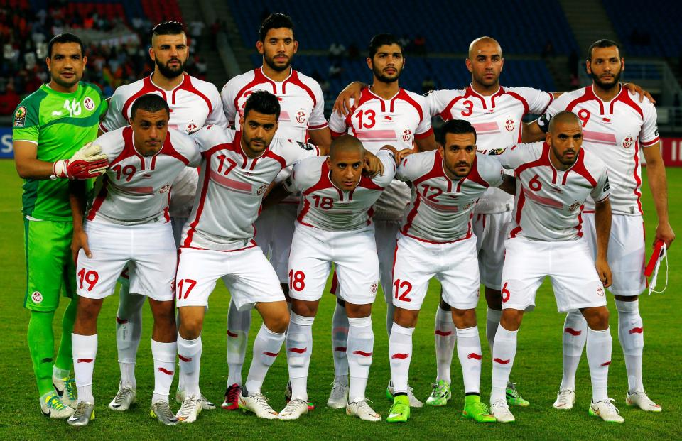 Image result for tunisia world cup team