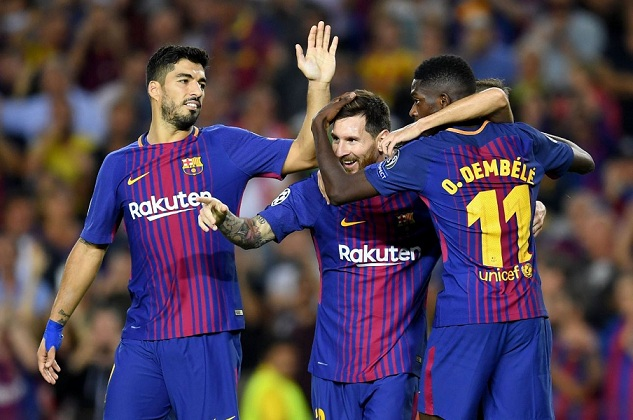 ee8e4907f Spanish football giants Barcelona will play a friendly match against South  African champions Mamelodi Sundowns in Johannesburg on May 16 as part of  the ...