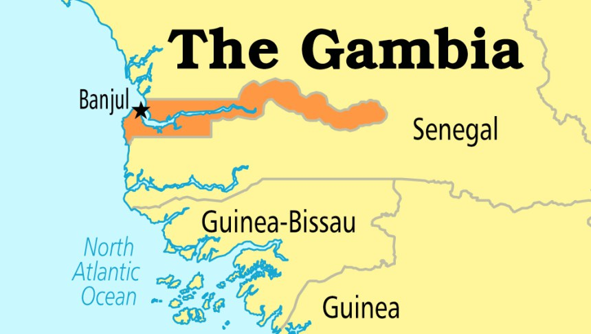 The Gambia's oil exploration turns unsuccessful | CGTN Africa on djibouti africa map, mauritius africa map, uganda africa map, dakar africa map, casablanca africa map, algeria africa map, lesotho africa map, ghana africa map, lake nyasa africa map, rwanda africa map, guinea africa map, swaziland africa map, johannesburg africa map, mauritania africa map, cape verde africa map, zambia africa map, malawi africa map, cairo africa map, timbuktu africa map, comoros africa map,