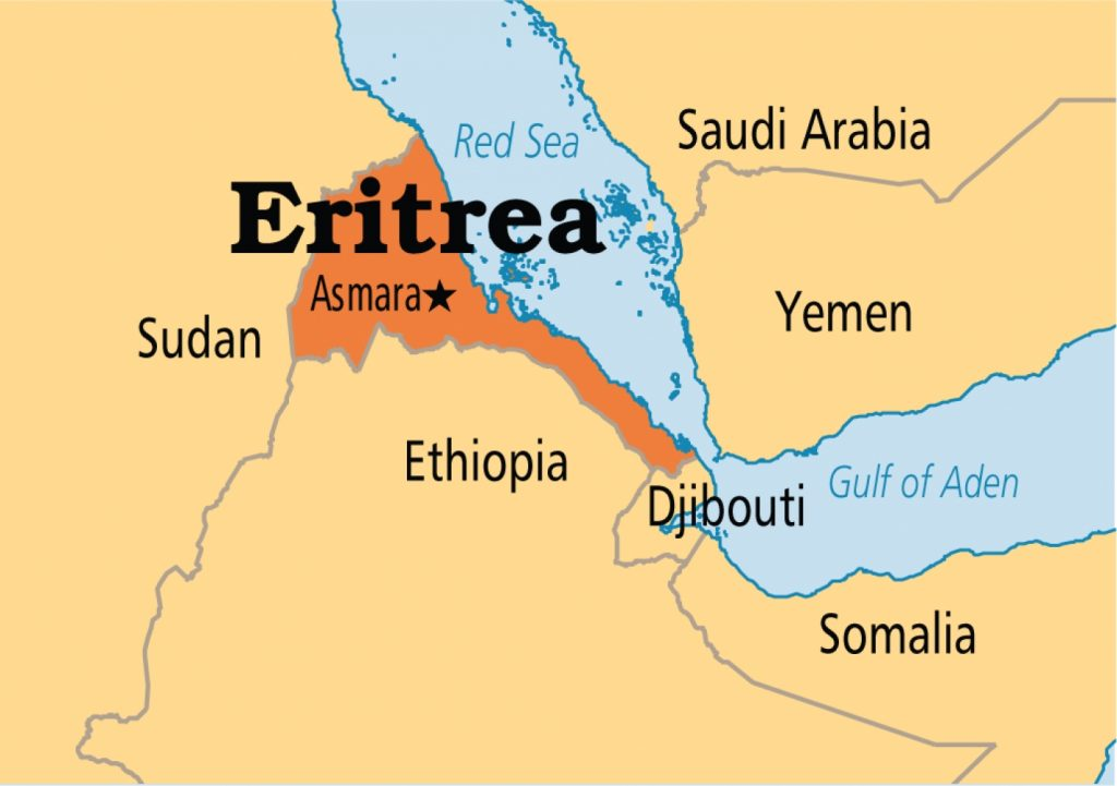 Map Of Africa Eritrea.Eritrea Hopes Planned Port Attracts Global Investment Cash Cgtn Africa
