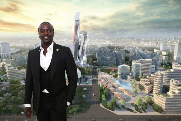 Akon moves ahead with plans for 'Akon City' | CGTN Africa