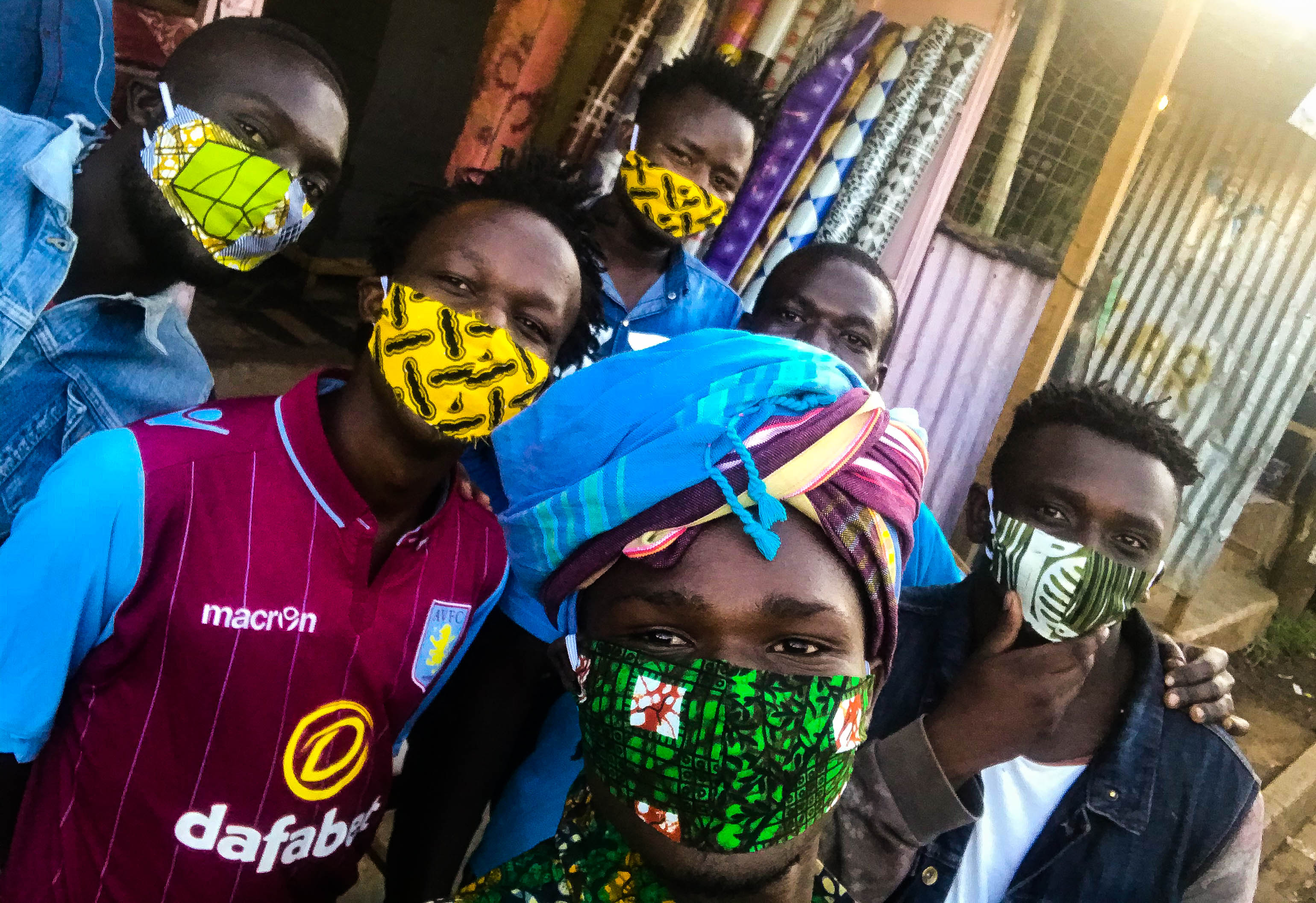 Coronavirus In Kenya Local Fashion Designer Hands Out Masks To Protect Vulnerable Communities Cgtn Africa