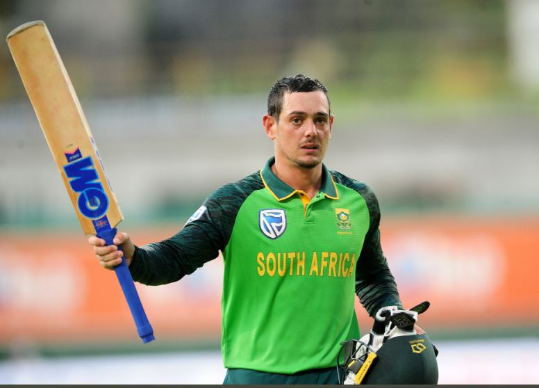 Quinton de Kock named South Africa's cricketer of the year at CSA awards |  CGTN Africa