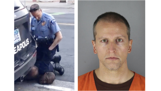 Former Police Officer Derek Chauvin Charged In George Floyd S Death Released From Custody Cgtn Africa
