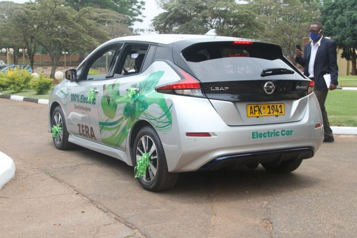 Zimbabwe launches Japanese electric car to accelerate ...