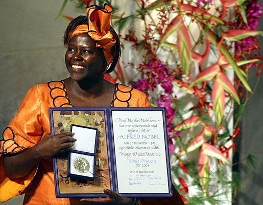 Faces of Africa – Wangari Maathai: The Eco-warrior with a smile