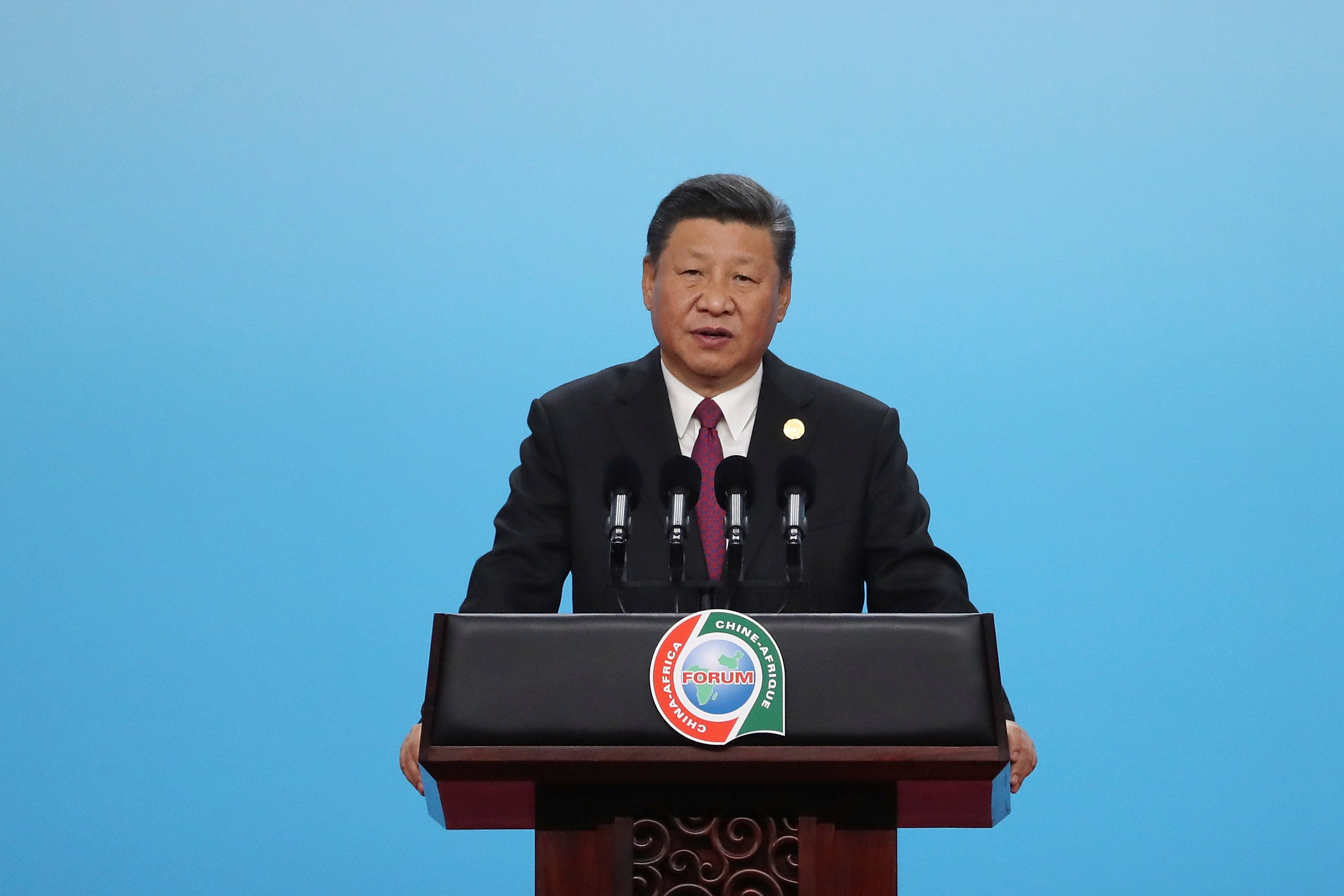 China declares funds for Africa's development and not racked up debt