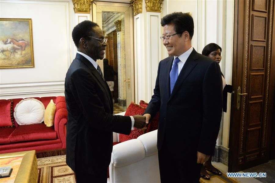 Xi's special envoy attends Equatorial Guinea's 50th independence anniversary